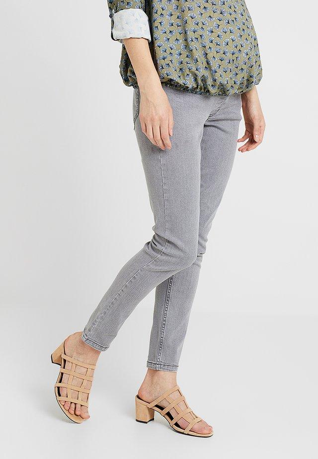UNTERBAUCHBUND - Slim fit -farkut - grey denim