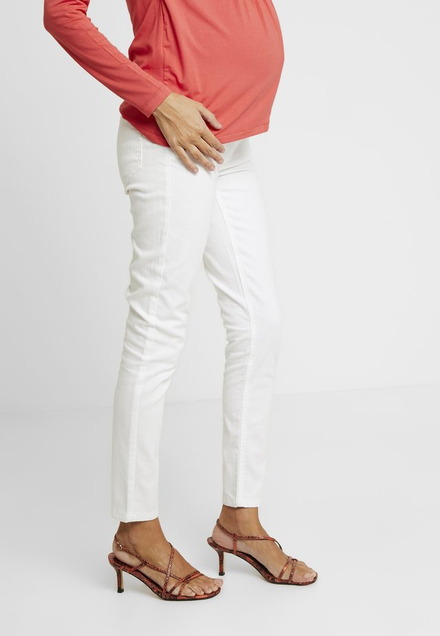 HOSE - Slim fit jeans - bright white