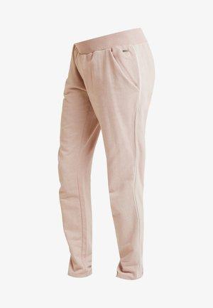 Spodnie treningowe - shadow gray / rose