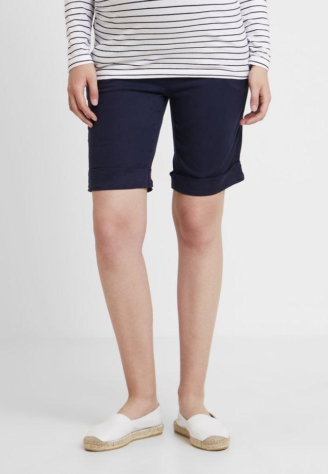 ÜBERBAUCHBUND - Shorts - peacoat blue
