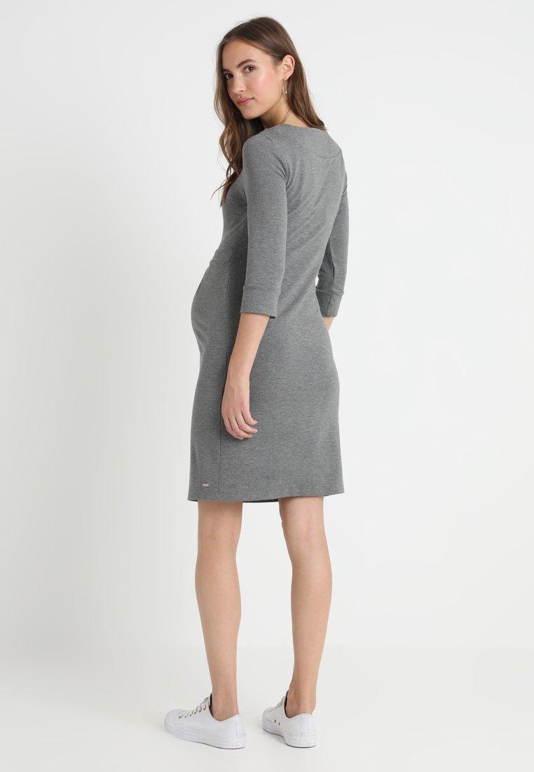 bellybutton DRESS SLEEVE - Robe d'été melange grey