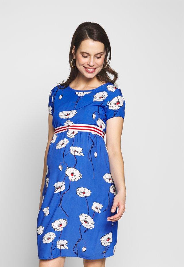 Sukienka z dżerseju - blue