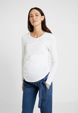 LAURE - Camiseta de manga larga - bright white