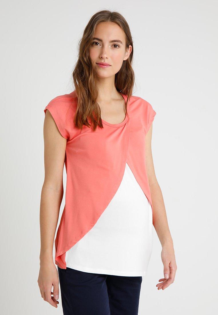 bellybutton - 1/4 ARM MIT STILLFUNKTION - T-shirt imprimé - porcelain rose/orange
