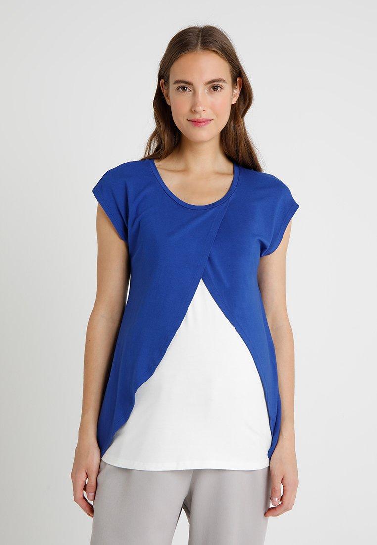 bellybutton - 1/4 ARM MIT STILLFUNKTION - T-shirt z nadrukiem - mazarine blue