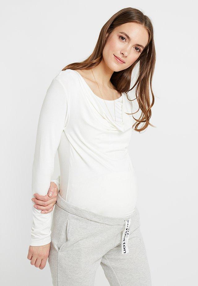 STILLSHIRT - Long sleeved top - white