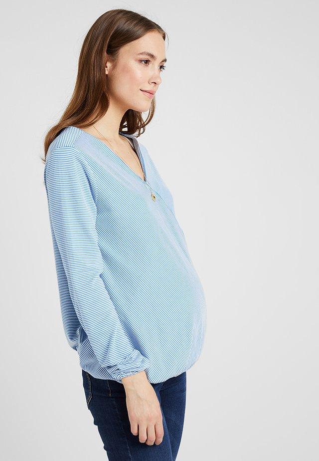 STILL - Long sleeved top - blue