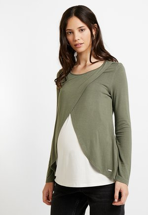 1/1 ARM - Langærmede T-shirts - dusty olive