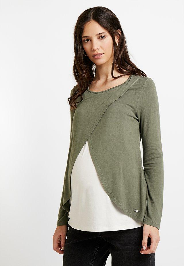 1/1 ARM - Långärmad tröja - dusty olive