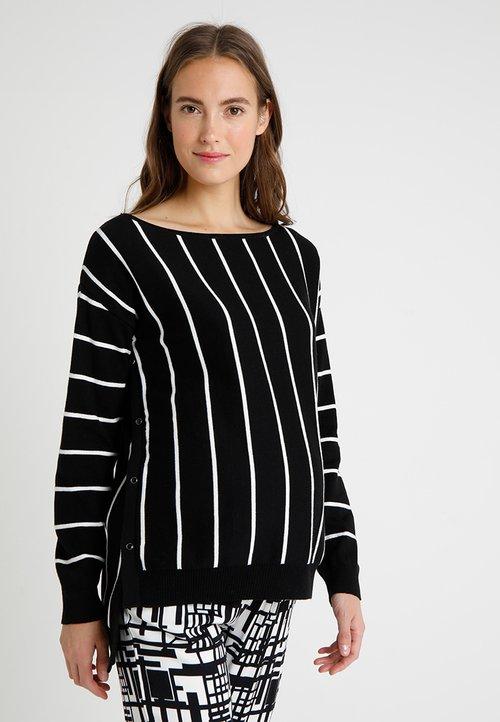 bellybutton ARM MIT STILLFUNKTION - Sweter - black Odzież Damska MSWL-TD6 60% ZNIŻKI
