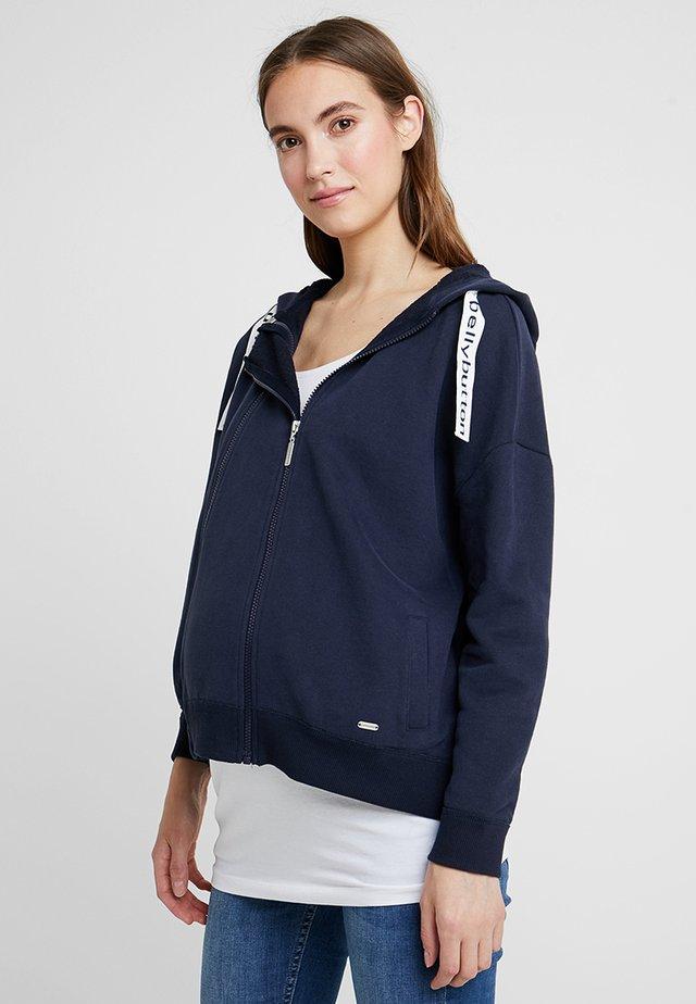 Zip-up hoodie - night sky/blue