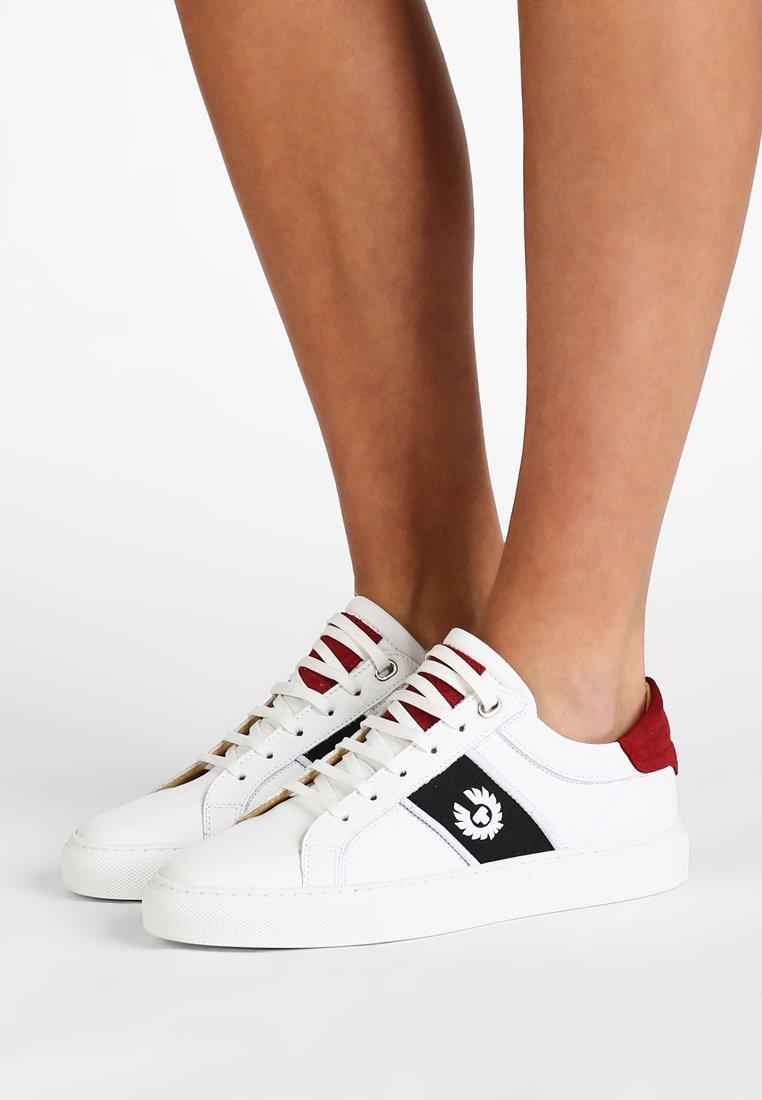 Belstaff - DAGENHAM PHOENIX - Sneaker low - white/red