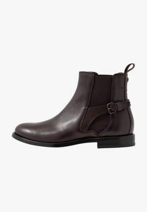 NEWINGTON CLEAN - Botines bajos - dark brown