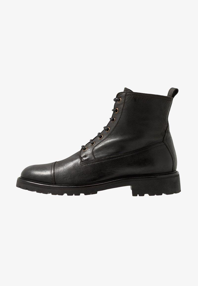 Belstaff - NEW ALPERTON BOOT - Snörstövletter - black