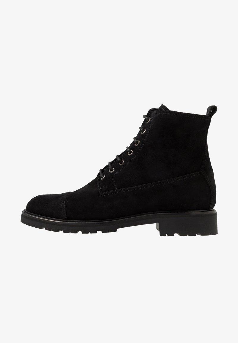 Belstaff - NEW ALPERTON BOOT - Snørestøvletter - black