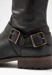 Belstaff - TRIALMASTER BOOT - Kotníkové boty - black - 5