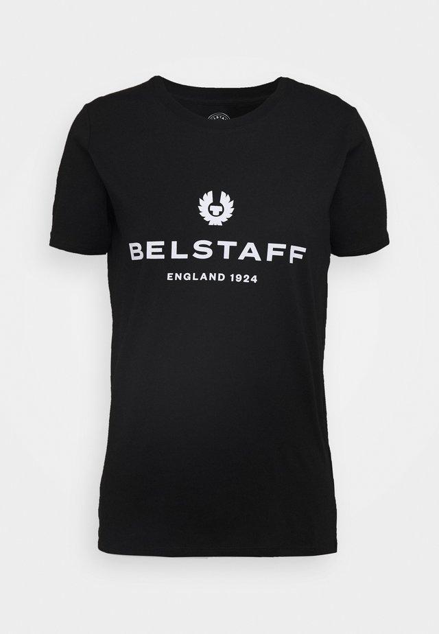 MARIOLA - T-shirt z nadrukiem - black