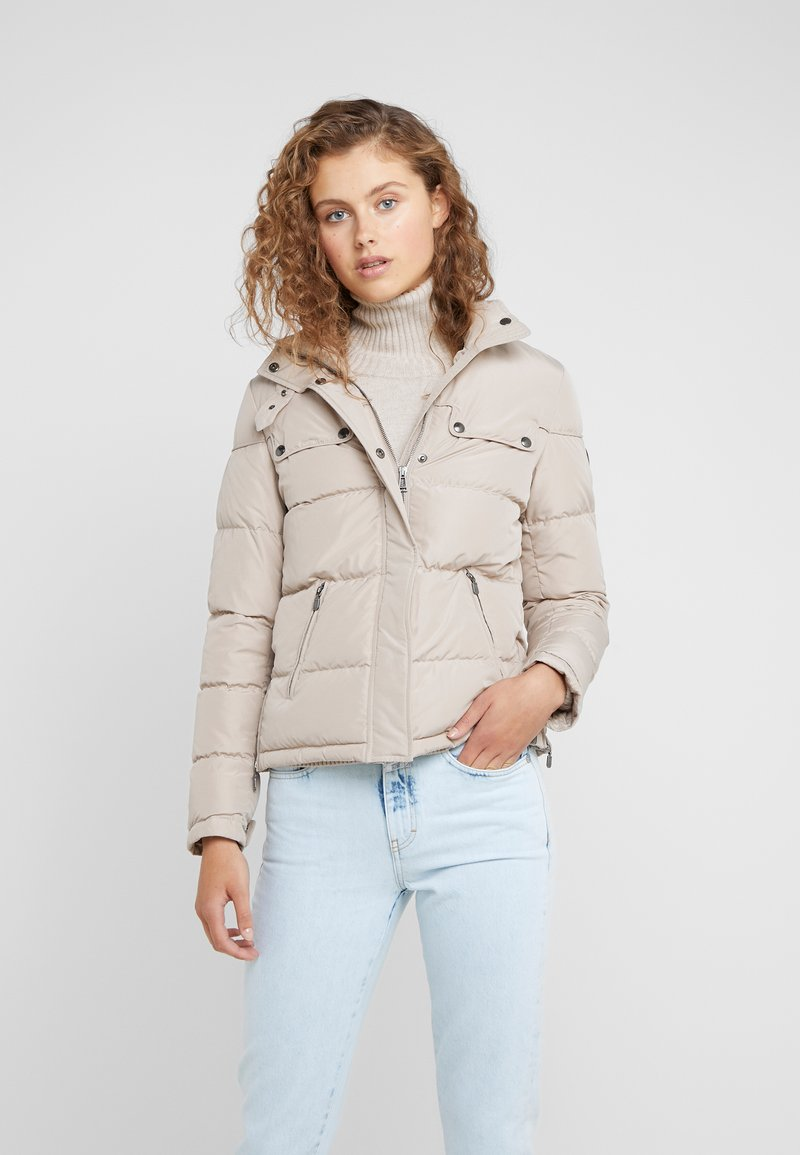 Belstaff - SLOPE - Down jacket - light sand