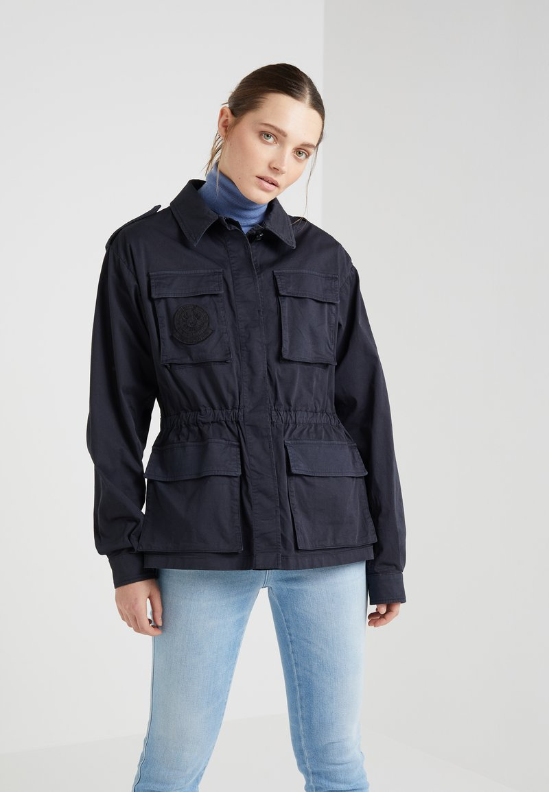 Belstaff - ANCHORFIELD PATCHES - Summer jacket - deep cyan