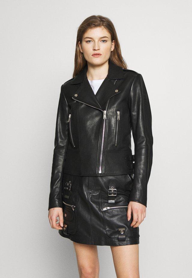 MARVINGT - Leather jacket - black