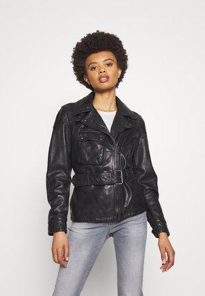 SAMMY MILLER JACKET - Leather jacket - black