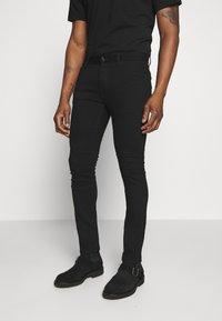 Belstaff - TATTENHALL RAVEN COAL - Slim fit jeans - rinse black - 0