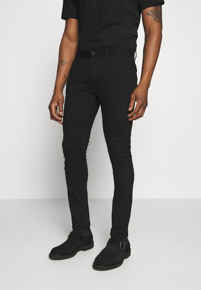 TATTENHALL RAVEN COAL - Slim fit jeans - rinse black