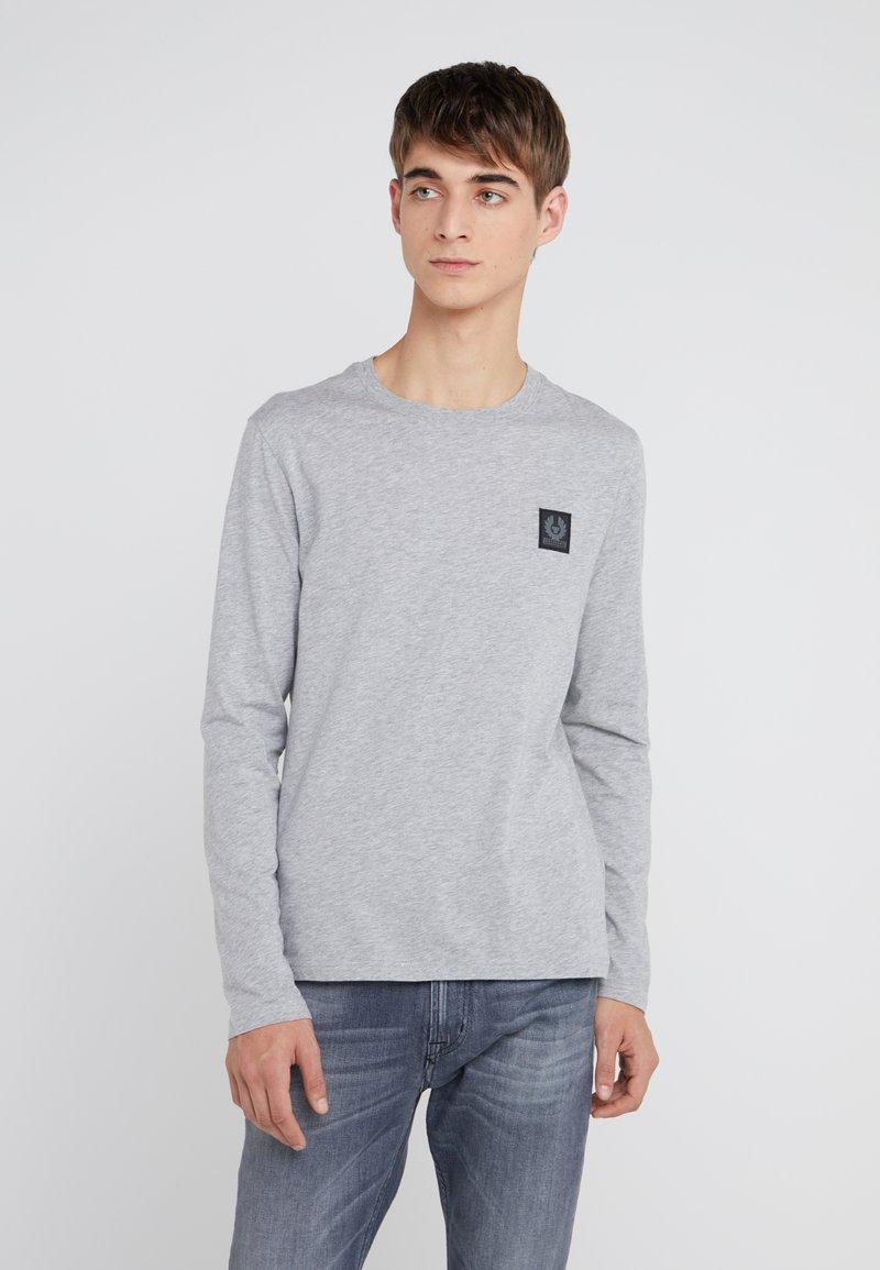 Belstaff - THROWLEY - T-shirt à manches longues - grey melange
