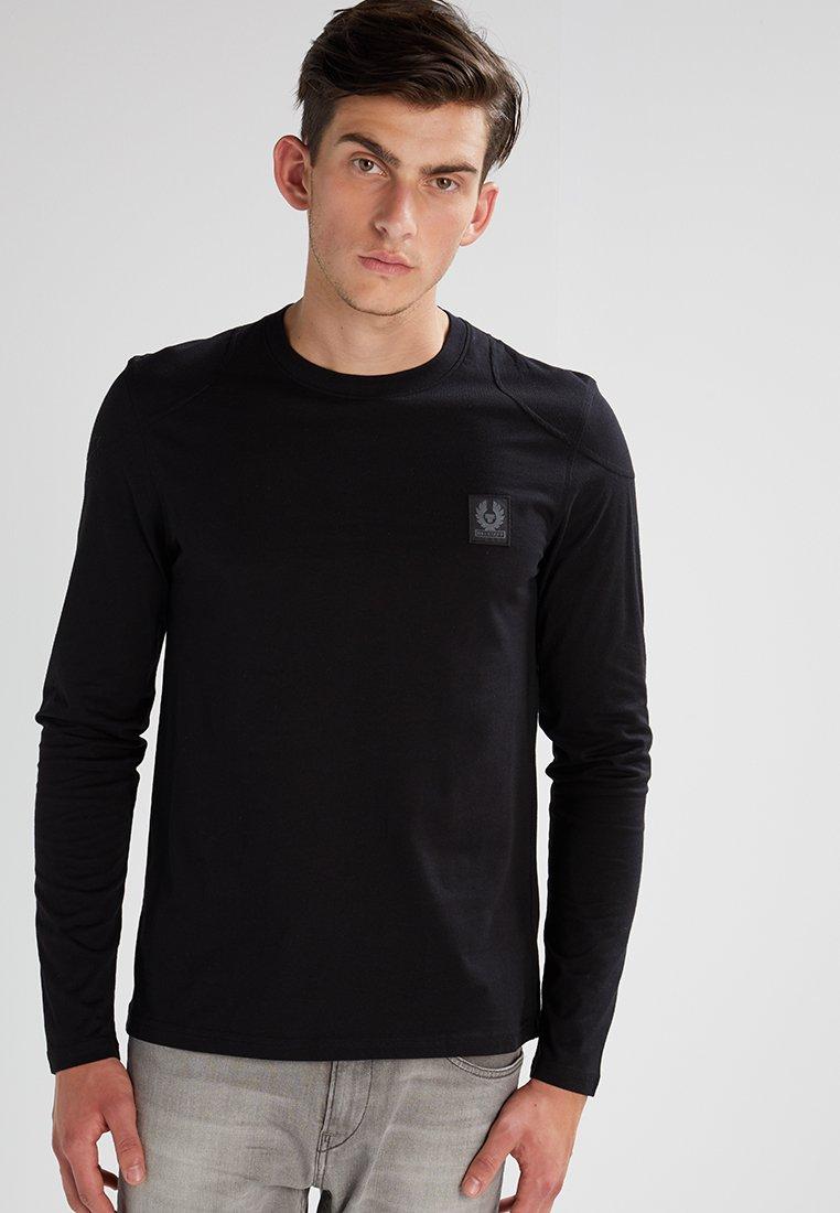 Belstaff - THROWLEY - Langærmede T-shirts - black