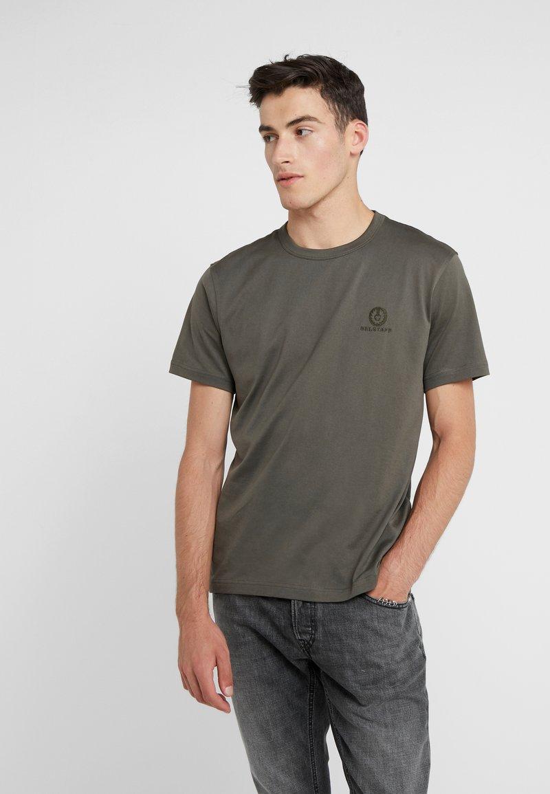 Belstaff - Camiseta básica - dark pine
