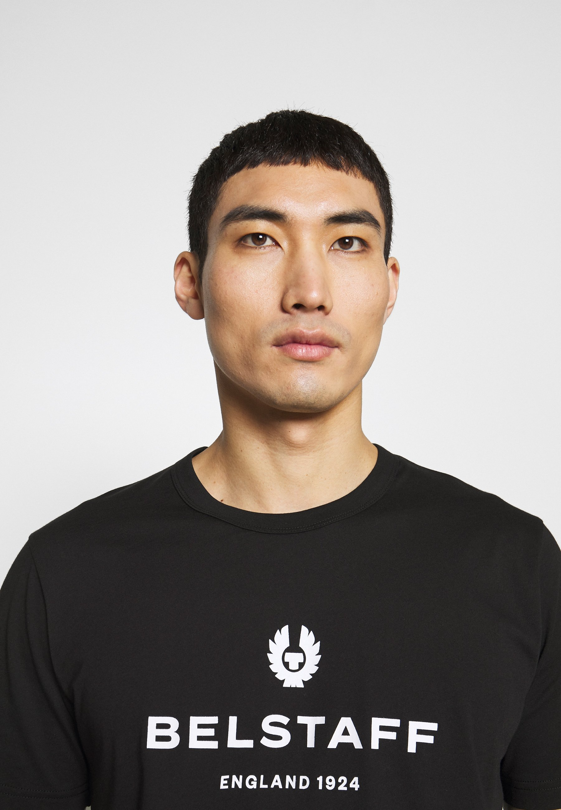 Belstaff - T-shirt Med Print Black