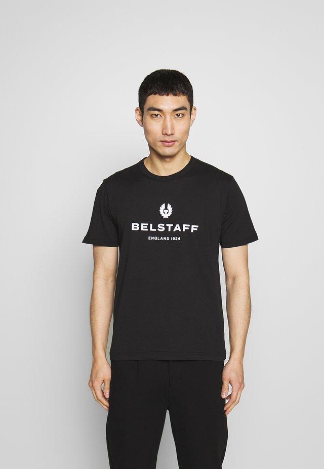 BELSTAFF - T-shirt con stampa - black