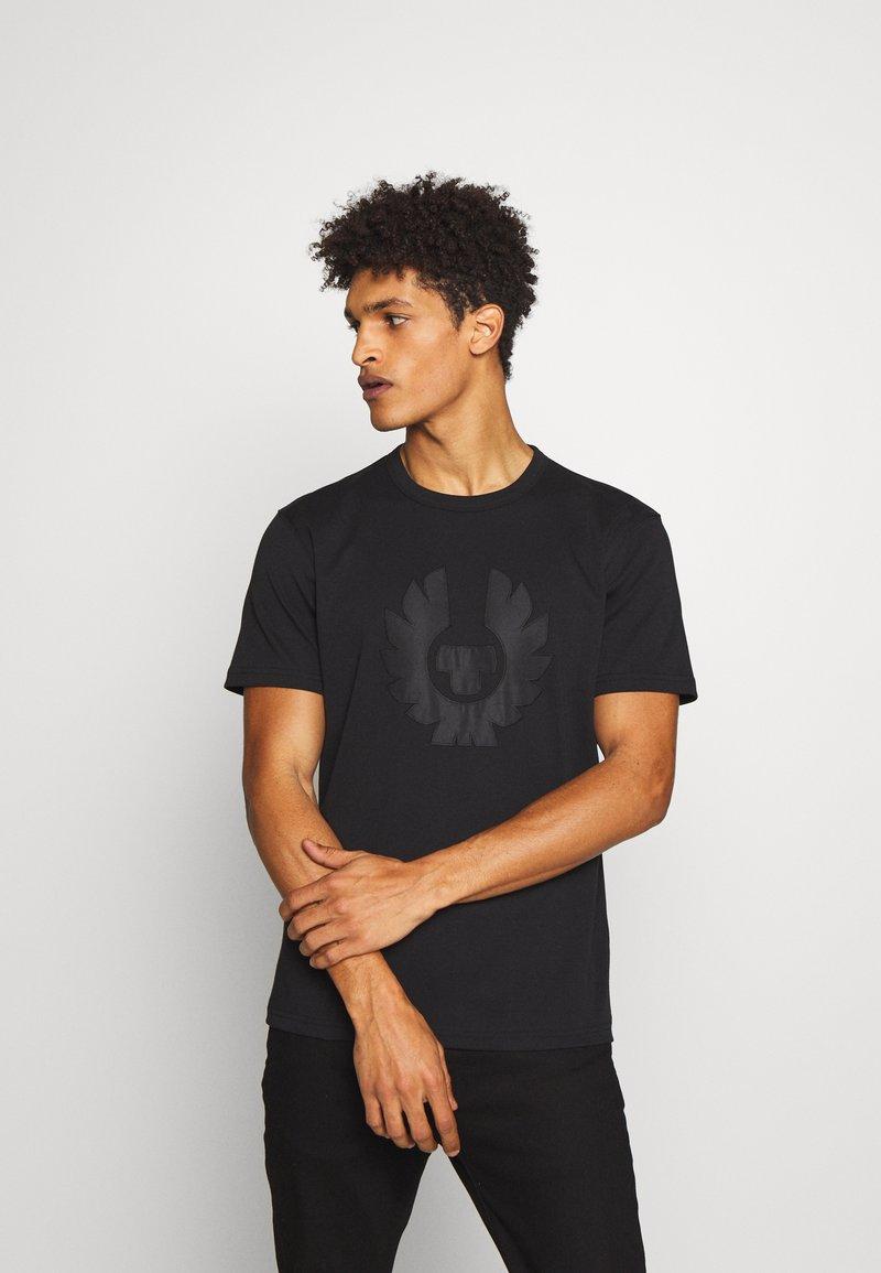 Belstaff - APPLIQUE PHOENIX - Print T-shirt - black