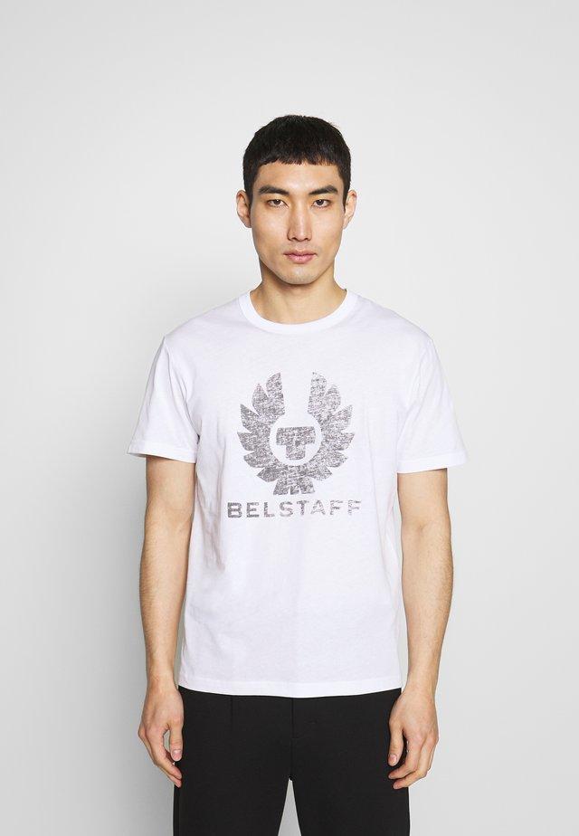 COTELAND  - T-shirt z nadrukiem - white