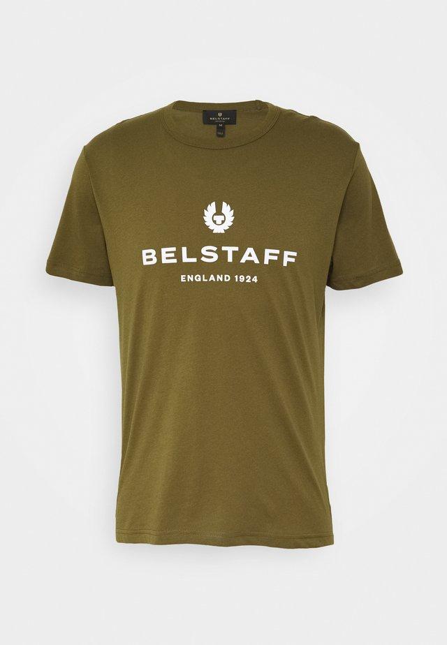 T-shirt z nadrukiem - salvia