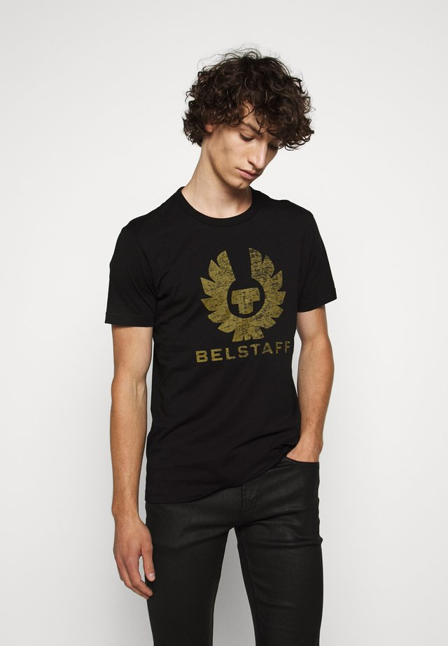 COTELAND  - T-shirt z nadrukiem - black