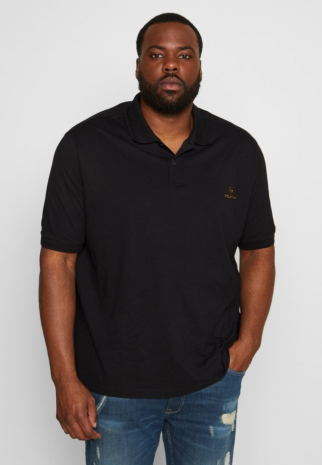 Big & Tall Belstaff - Poloshirt - black