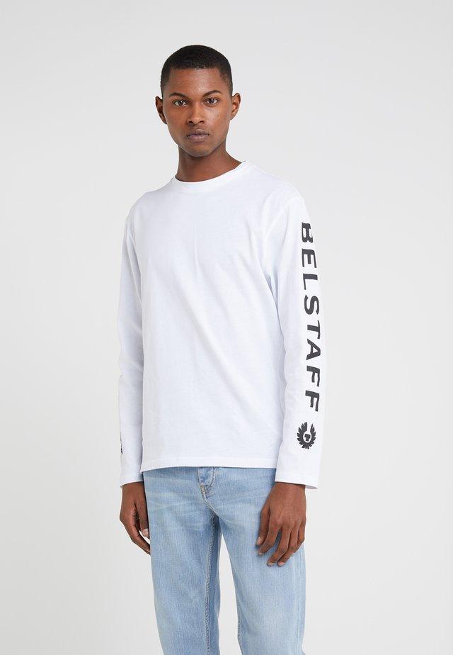 BRATTON - Pitkähihainen paita - white