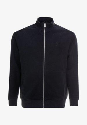 BIG & TALL BELSTAFF ZIP THROUGH  - Zip-up hoodie - black