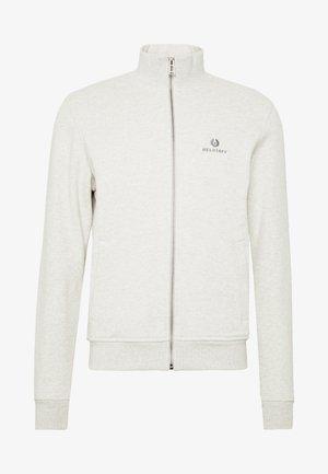 ZIP THROUGH - Zip-up hoodie - heather grey melange