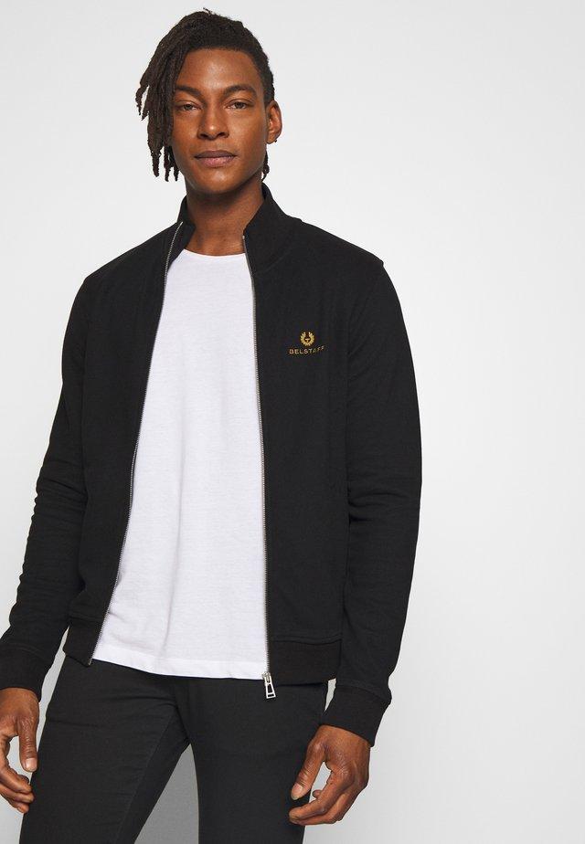 ZIP THROUGH - Zip-up hoodie - black