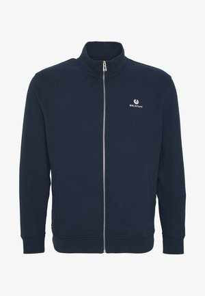 Big & Tall ZIP THROUGH - Mikina na zip - navy