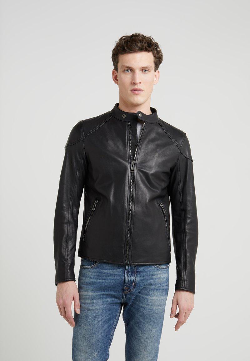 Belstaff - RACER - Leather jacket - black