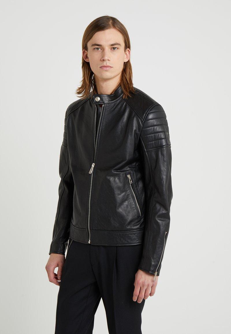 Belstaff - NORTHCOTT - Leather jacket - black