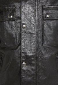 Belstaff - GANGSTER JACKET - Veste en cuir - black - 6