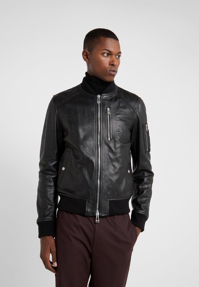 Belstaff - CLENSHAW JACKET - Leather jacket - black