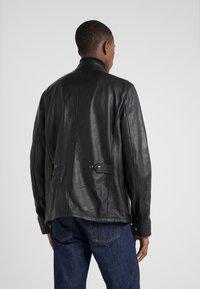 Belstaff - DENESMERE JACKET - Veste en cuir - black - 2