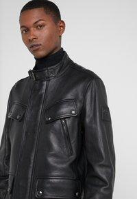 Belstaff - DENESMERE JACKET - Veste en cuir - black - 4