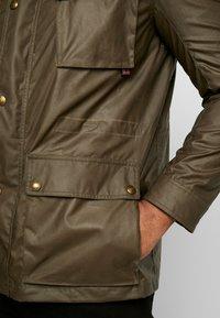 Belstaff - BIG & TALL FIELDMASTER - Summer jacket - capers - 5