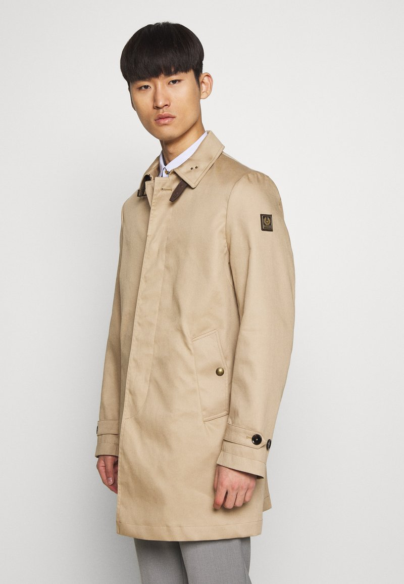 Belstaff - OLDFIELD - Trenchcoat - khaki/silver grey
